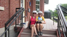 Great Allegheny Passage in Meyersdale Pennsylvania